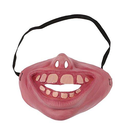 MMRM Halloween Divertida máscara feo del látex Mascarillas juguete(laniary)