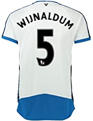 2015-16 Newcastle Home Shirt (Wijnaldum 5)