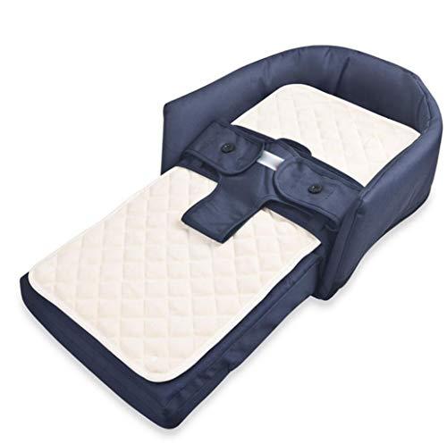 Baby Tragbare Komfortbett Multifunktions Faltbare Trennung Bett Stuhl Kinderbett 0-8 Monate (Color : 1)