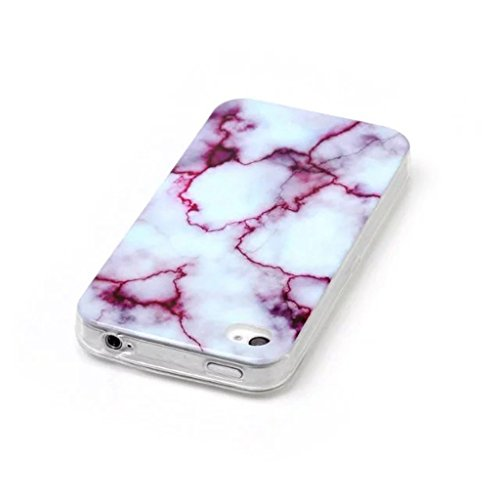 HUANGTAOLI Custodia in Silicone TPU Case Cover per Apple iphone 4 4S C05