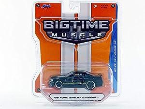 Jada Toys-Coche en Miniatura de colección, 12006bk _ GT500, Negro