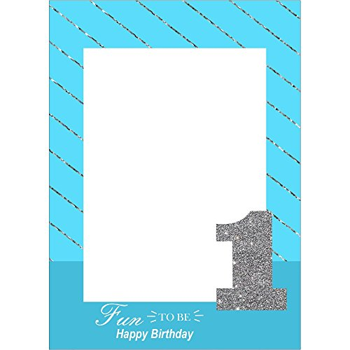 Generic Photobooth Frame 2Ft Boys 1St Birthday Party Supplies