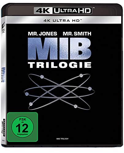 Men in Black 1-3 (4K Ultra HD) [Blu-ray] -