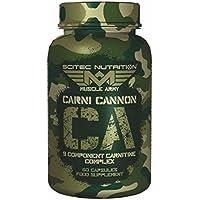 Scitec Ref.106453 Complexe de Carnitine Complément Alimentaire 60 Capsules