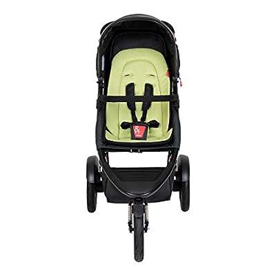 Phil&teds Dash V6 2019+ - Cochecito de bebé con asiento, color verde