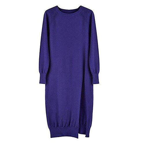 CeXin - Robe - coupe large - Femme Bleu