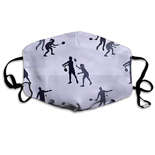 Daawqee Staubschutzmasken, Anti Dust Face Mouth Cover Mask Badminton Players Anti Pollution Breath Healthy Mask (Royal Herren Maske)