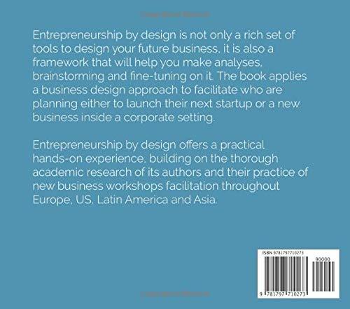 Zoom IMG-1 entrepreneurship by design business tools