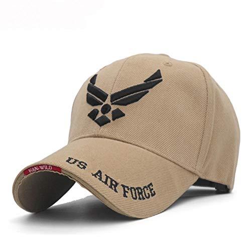 da334f98 ENGXING US Air Force Hommes Baseball Cap Hommes Marque Brodé Lettres  Tactical Caps Tenue Marine Seal