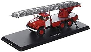 Start Scale Models ssm1163-Platino Vinilo Escalera de Camiones al de Bomberos 30(zil-131), Rayas Blancas