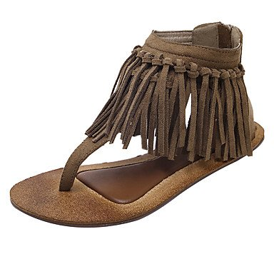 Scarpe DonnaSCARPE DONNA estate modo delle signore nappa dell'anello della punta dei sandali e infradito Sexy Club US5.5 / EU36 / UK3.5 / CN35