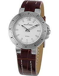 Jacques Lemans Damen-Armbanduhr XS Milano Analog Leder 1-1719B