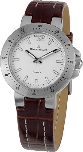 Jacques Lemans Ladies Watch XS Analogue 1–1719B Milano Leather