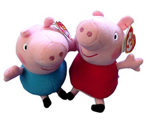 "Peppa Pig and George- (Peppa Pig) - 6"""