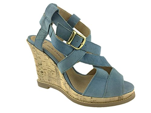 New Look , Sandales pour femme Bleu - bleu