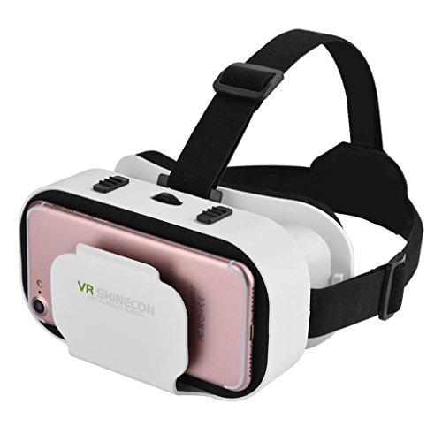 Mengonee VR Shinecon 5.0 3D-SC-G05A Brille VR Filme Spiele Headset für Das iPhone für Samsung...