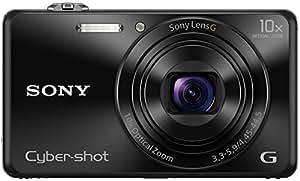 Sony Cybershot DSC-WX220/B 18.2MP Digital Camera 16GB Memory card (Black)