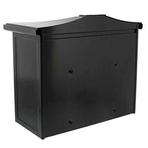 BURG-WÄCHTER, Briefkasten mit Komfort-Tiefe, A4 Einwurf-Format, Verzinkter Stahl, Kopenhagen 882 E, Alteisen - 2