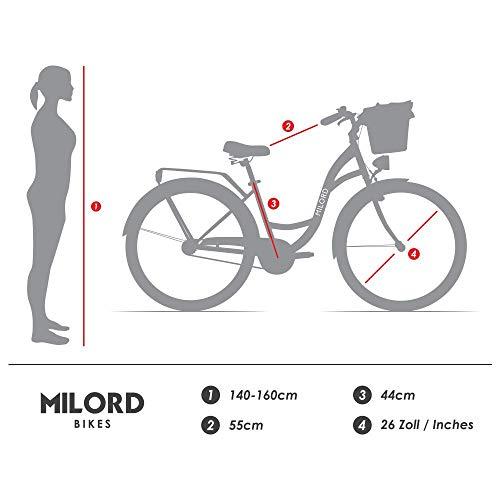 Zoom IMG-3 milord 26 1 velocit bici