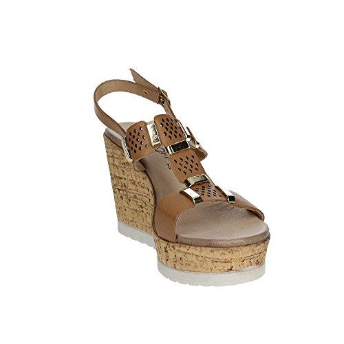 Cinzia Soft IZ97003 002 Sandale Femme Marron cuir