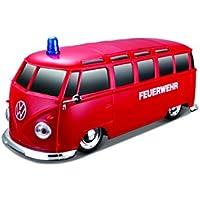 Maisto 1:24 RC Fahrzeug VW Bus Feuerwehr/Krankenwagen mit Licht + Sound