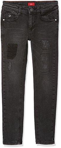 s.Oliver Jungen Jeans 61.707.71.2873, Grau (Grey/Black Denim Stretch 98Z7), 164 (Herstellergröße: 164/REG)