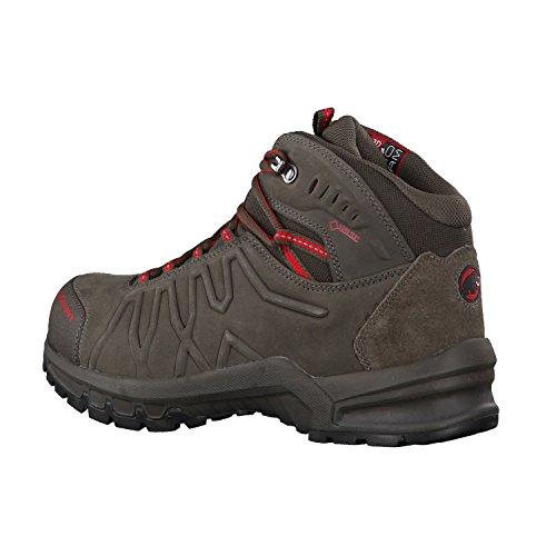 Mammut Mercury Mid Ii, Chaussures de Randonnée Basses Homme bark/d'inferno