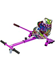 Hovergliss Newstreet Hoverkart Mixte Adulte, Multi Couleur