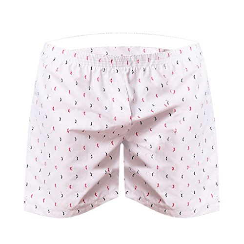 Men Casual Bermuda Masculina Household Shorts Peachpuff