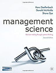 Management Science: Decision-making through systems thinking