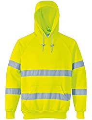 Fast Fashion - Hi Sweatshirt Sûreté Visibilité De Vêtements De Travail Capuche Jumper
