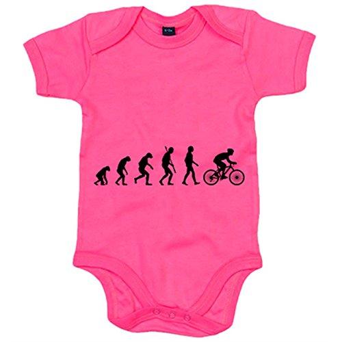 Body bebé Cyclist Evolution la evolución del ciclista ciclismo bicic
