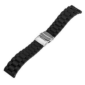 Samsung Gear S3 Reloj Correa, TRUMiRR 22mm Banda de reloj Milanese Loop correa magn¨¦tica de bloqueo para Samsung Gear 2 R380 R381 R382, Moto 2 360 46mm, Pebble Time/Steel, Huawei Watch 2 (Classic) marca TRUMiRR
