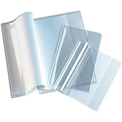 Confezione da 10 copertine per quaderni (mod. Calligraphe Cristal Luxe), grammatura 22/100°, 24 x 32 cm, colore: Trasparente