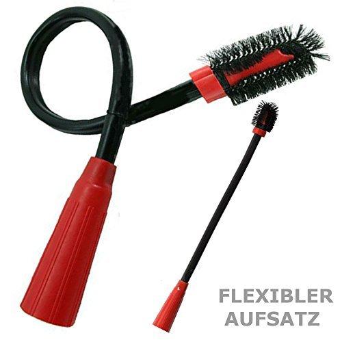 Eurosell XL Radiador Cepillo Muebles Pinceles Radiador polvo pincel flexible para aspirador-30313233...