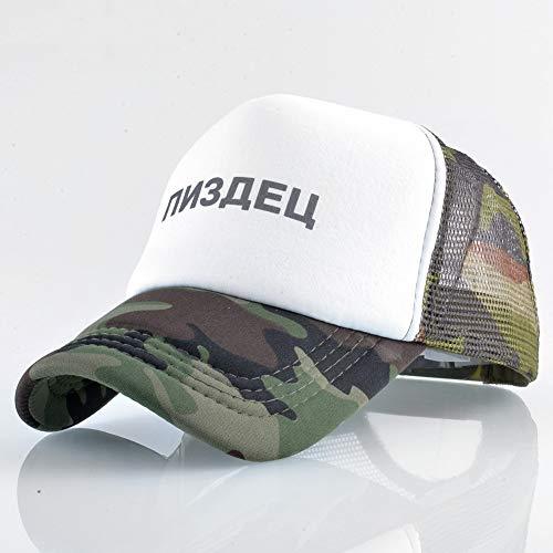 Preisvergleich Produktbild sdssup Brief Baseball Cap Männer und Frauen Mesh Cap Camouflage 1 M (56-58cm)