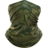 ‏‪Outdoor Sport Bandana Military Mask Tube Fishing Cycling Tactical Hiking Cover Neck Gaiter Biker Headband Scarf Face Shield Men‬‏