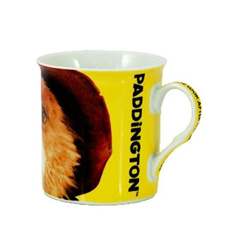 Film de l'ours de Paddington officiellement breveté Close Up Tasse de tasse de café en céramique jaune