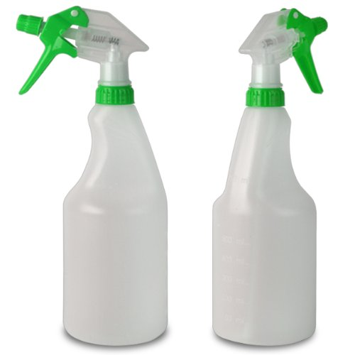 pack-of-5-750ml-green-coloured-hand-trigger-spray-bottles-for-cleaning-gardening-pets-hairdressing-c