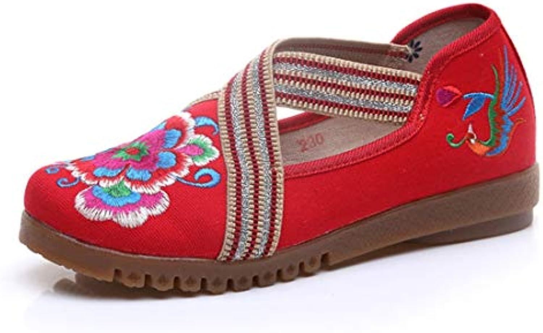 Bordado Zapatos/Alpargatas/ Merceditas/Zapatos de Lona y Bordados