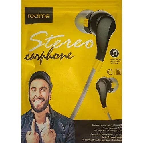 Mr Gaurav Realme in Ear Phone Sound Super (Black) Image 7