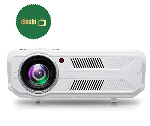 1. Dinshi Fusion Full HD 3500 Lumen LCD Projector