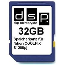 DSP Mémoire Z 405155736533932Go Carte mémoire pour Nikon CoolPix S1200pj