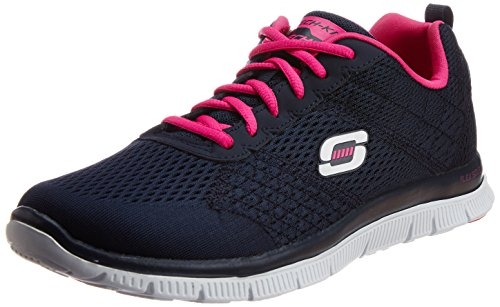 skechers-flex-appeal-obvious-choice-damen-sneakers-blau-nvpk-38-eu
