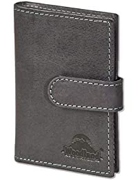 52c30fef73 Woodland - Custodia per carte di credito-XXL con 19 tasche di carta di  morbide