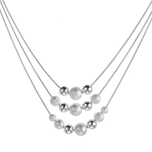 - 41dfoSq 2BiQL - Fashion 925 Silver Necklace, for Girl,for Women.Excellent quality.925 silver jewellery.