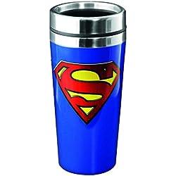 Superman PP2901SM - Taza de viaje, multicolor