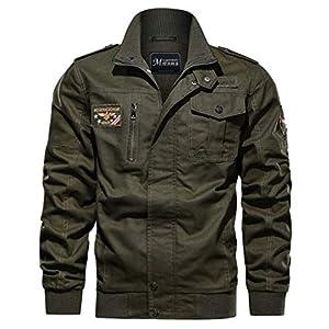 Oasics Jacke Winter Herren Größe Militäruniform Jacke Baumwolle Taktische atmungsaktive Jacke Jacke M-6XL
