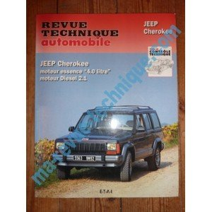 RRTA0529.2 REVUE TECHNIQUE AUTOMOBILE JEEP CHEROKEE Essence 4.0l – Diesel 2.1l