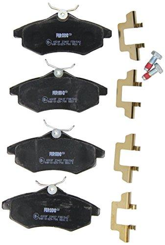 Ferodo FDB1542 Pastiglie freno, freno a disco - (confezione 4 pezzi)